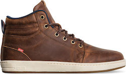 GLOBE GS BOOTS BROWN LEATHER