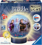 3D Puzzle Ball Disney Frozen II 72pcs (11141) Ravensburger