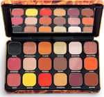 Revolution Beauty Forever Flawless Eyeshadow Palette Fire