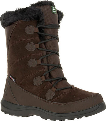 Kamik ICELYN S - Women's winter boots - Dark Brown