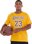 Nike Los Angeles Lakers LeBron James Dri-FIT BQ1540-743 Amarillon