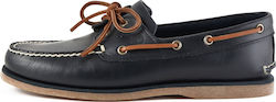 Timberland Classic Boat 2 Eye A232M Navy Full Grain