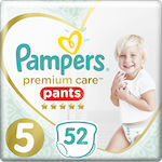 Pampers Premium Care Pants No 5 (12-17Kg) 52τμχ