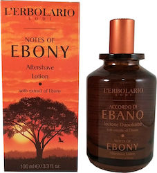 L' Erbolario Notes of Ebony After Shave Lotion 100ml