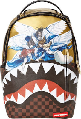 Sprayground Angels Gold Sharkmouth