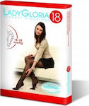 Gloria 140 Den 18-20mmHg Black