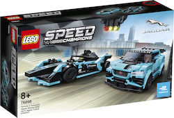 Lego Speed Champions: Formula E Panasonic Jaguar Racing GEN2 car & Jaguar I-PACE eTROPHY 76898