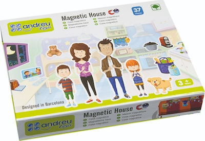 Andreu Toys Magnetic House