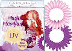 Invisibobble Original Magic Mermaid UV 3τμχ Coral Cha Cha