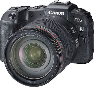 Canon EOS RP Kit (RF 24-105mm f/4L IS USM) Black