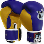 Raja Boxing Gloves RBGV-1 401302 Blue/Yellow
