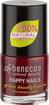 Benecos Happy Nails with Avocado & Biotin Mini Cherry Red