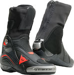 Dainese Axial D1 Air Boots Black/Fluo-Red