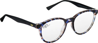 OJO Sunglasses Oval Ghov 31OPS60049 Blue