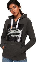 Superdry Premium Sequin G20010YR-04Q Grey