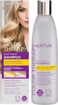 Kativa Color Therapy Blue Violet Shampoo Anti-Yellow Effect 250ml