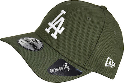 New Era Los Angeles Dodgers Diamond Era 9Forty 12285519 Khaki
