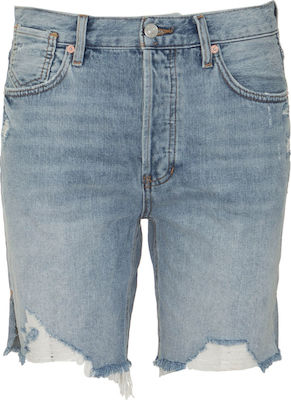 FREE PEOPLE W OB1070999 SEQUOIA SHORTS - FPC.0S1.020.003-VNTG DEN BLUE