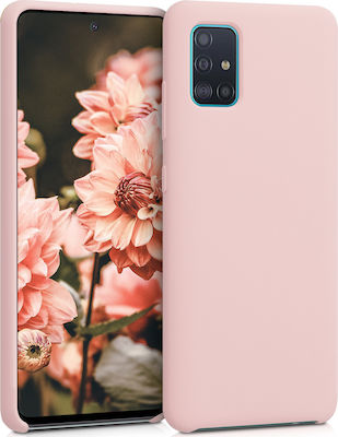 KW Soft Flexible Back Cover Antique Pink Matte (Galaxy A51)