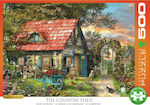 XL The Country Shed by Dominic Davinson 500pcs (6500-0971) Eurographics