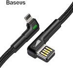Baseus Braided USB to Lightning Cable Μαύρο 1m (CALKLF-P01)
