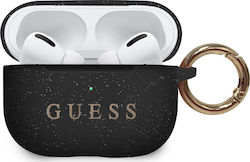 Guess Silicone Case Black Blister (Apple AirPods Pro)