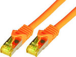 MCAB S/FTP Cat.7 Cable 0.5m Πορτοκαλί (3701)