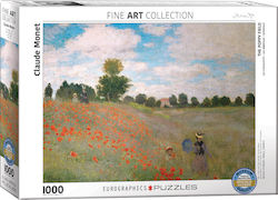 The Poppy Field by Claude Monet 2D 1000pcs