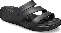Crocs Monterey Wedge 206304-001 Black
