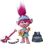 Hasbro DreamWorks Trolls World Tour Pop-to-Rock Poppy Singing E9411