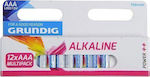 Grundig Alkaline Power++ AAA (12τμχ)