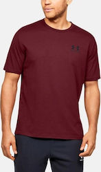 Under Armour Sportstyle Left Chest 1326799-615 Bordeaux