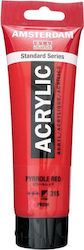 Royal Talens Amsterdam All Acrylics Standard 120ml Pyrrole Red 315