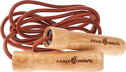 Mad Wave Wooden Skip Rope