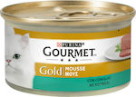 Purina Gourmet Gold Κουνέλι Mousse 85gr 24τμχ