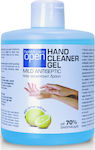 Open Cosmetics Hand Cleaner Gel Χωρίς Αντλία 500ml