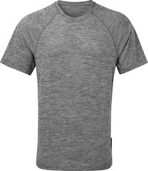 Ronhill Momentum Short Sleeve Mens Running Top - Grey