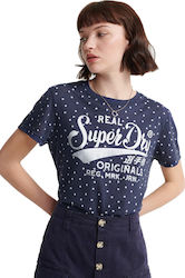 Superdry Ro Dot All Over Print Blue