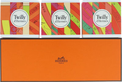 Hermes Twilly D'Hermes Soap Set 3x100gr