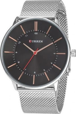 Curren 8303 Black/Silver
