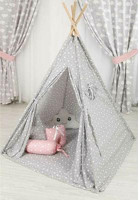 Mother Baby Παιδική Σκηνή Με Μαξιλάρι Συννεφάκι Grey