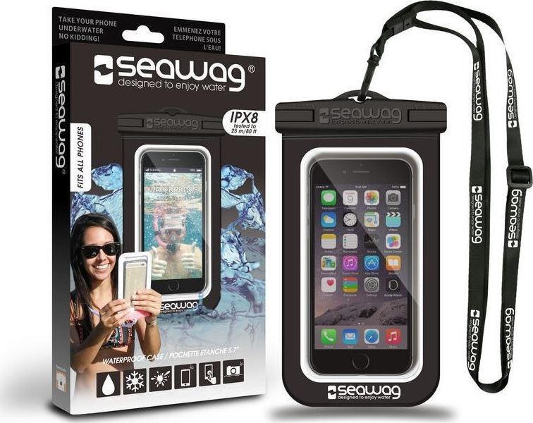 Seawag Waterproof Case έως 5.7″ (Μαύρο)