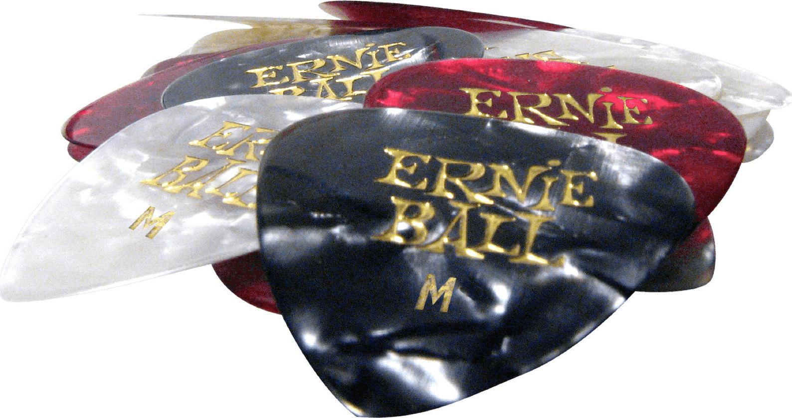 Ernie Ball Pearloid Cellulose Medium P09166-1 Mixed Color 0.72mm 1τμχ - Skroutz.gr