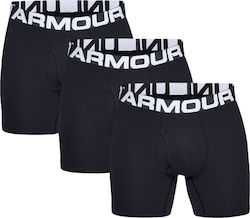 Ανδρικό Boxer Under Armour 1327426-001 3Pack Black