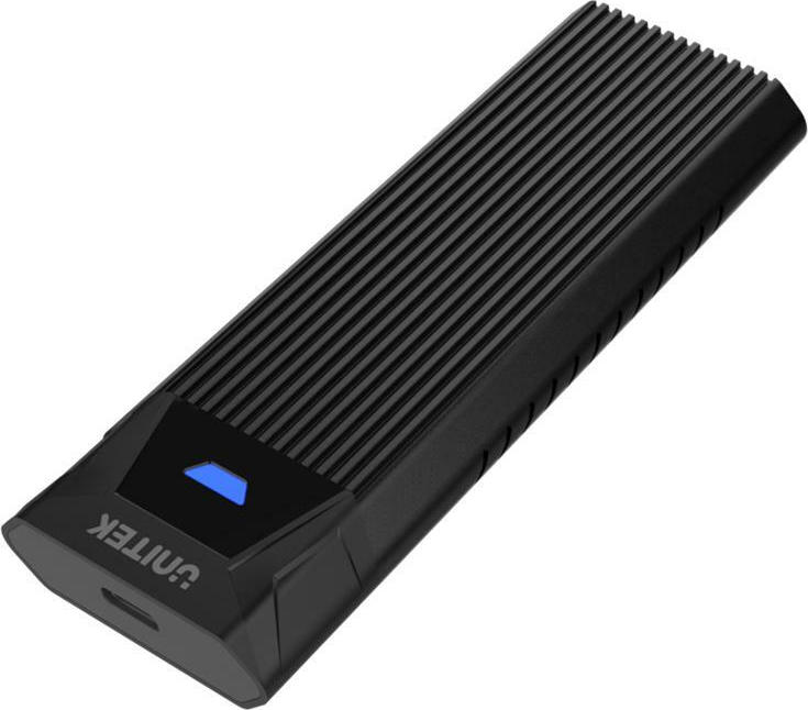 Unitek USB3.1 Gen2 Type-C to M.2 SSD NVMe Enclosure Black (S1203ABK) - Πληρωμή και σε έως 36 Δόσεις!!!