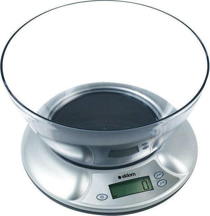 Eldom Ψηφιακή Ζυγαριά Κουζίνας 5kg (EK3130) - Πληρωμή και σε έως 36 Δόσεις!!!