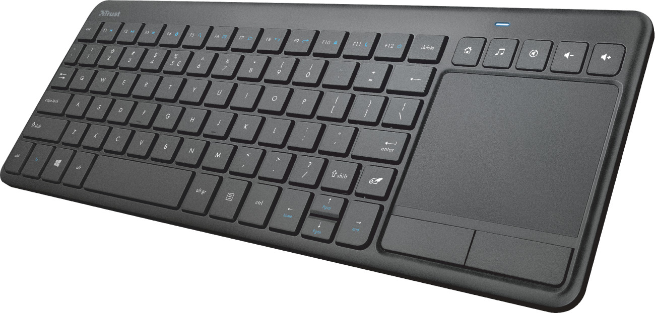 Trust Vaia Wireless Keyboard with large Touchpad (24006) - Πληρωμή και σε έως 36 Δόσεις!!!