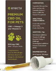 Enecta Premium CBD Oil For Pets 500mg 10ml