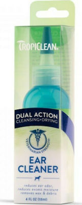 Tropiclean Ear Cleaning Dual Action 118ml