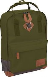 Abbey backpack Bloc small army green 34 x 24 x 13,5 cm